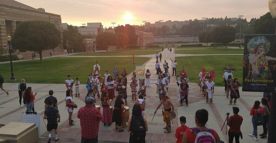 Indigenous People's Day celebration at UCLA