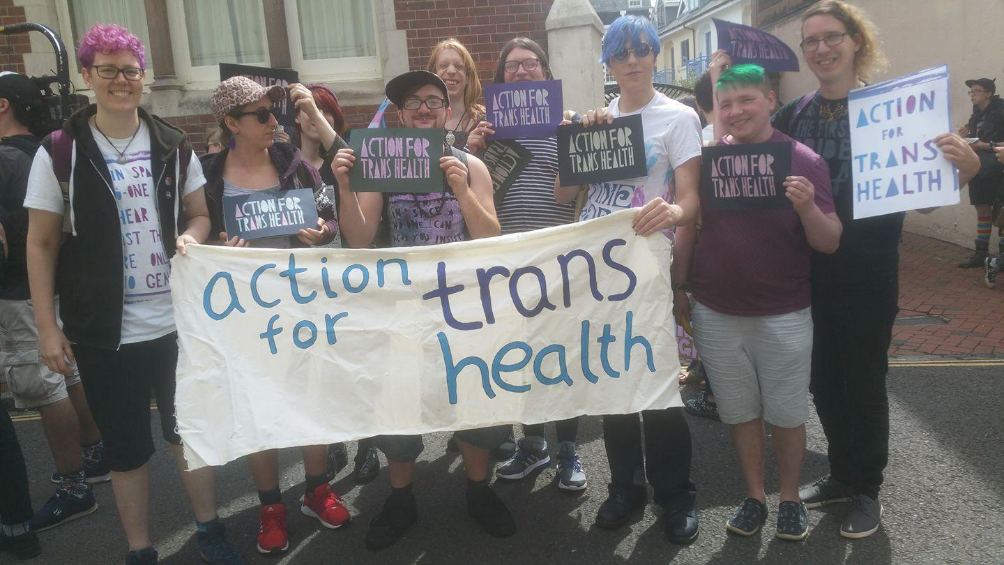 Lucy's Pride raised money for a group which supported trans health