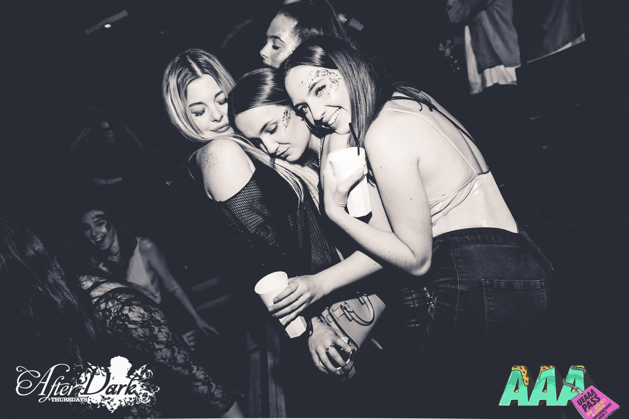 10/10 effort for showing up ladies even if you do need a nap on the dance floor