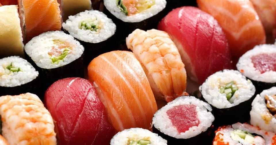 Image may contain: Mashed Potato, Sushi, Food