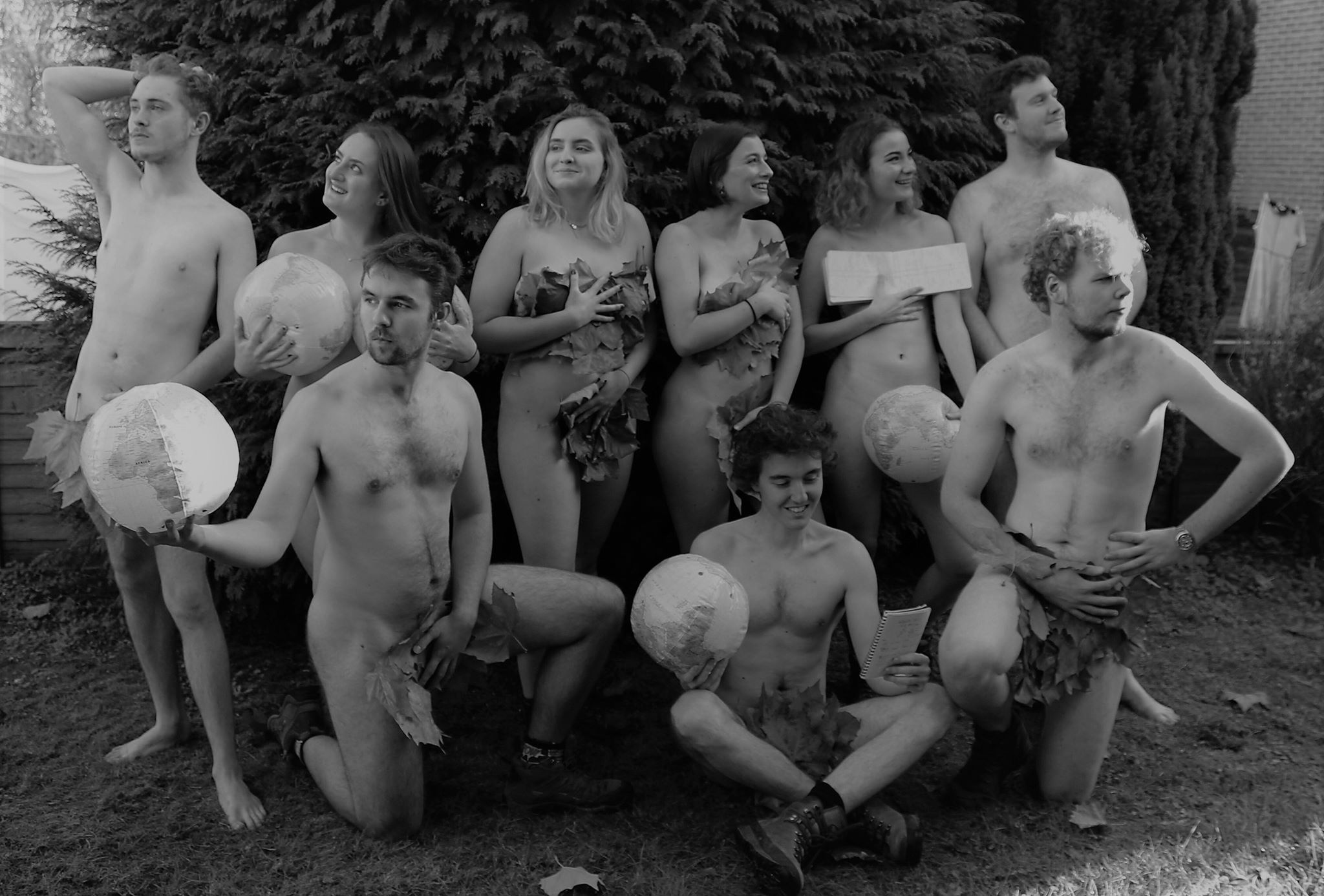 The UEA RAG Naked Calendar is back again with students baring all for  charity