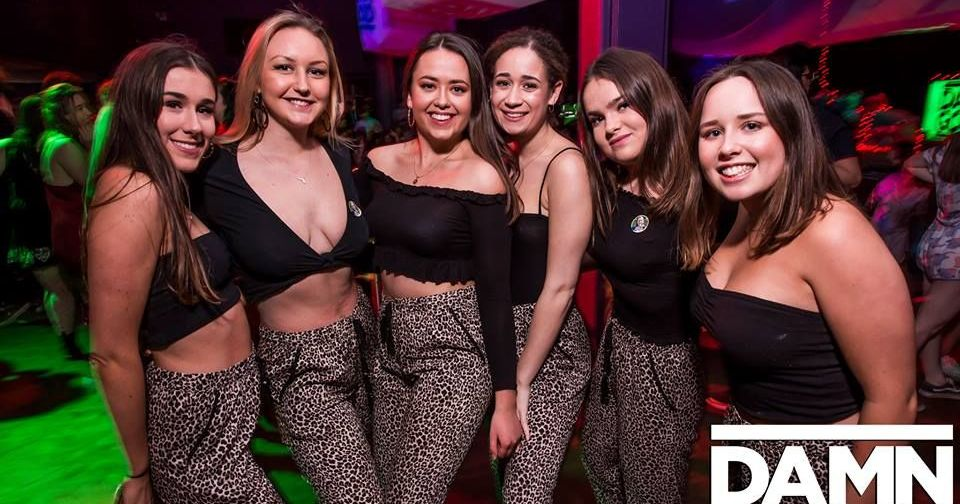 Image may contain: Disco, Apparel, Clothing, Night Club, Party, Club, Human, Person