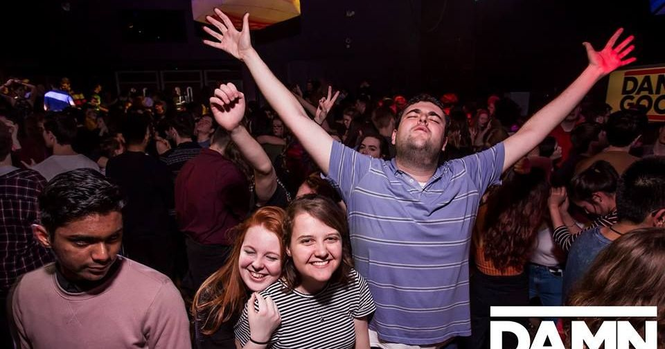 Image may contain: Photography, Photo, Portrait, Smile, People, Night Club, Crowd, Audience, Club, Night Life, Face, Party, Human, Person