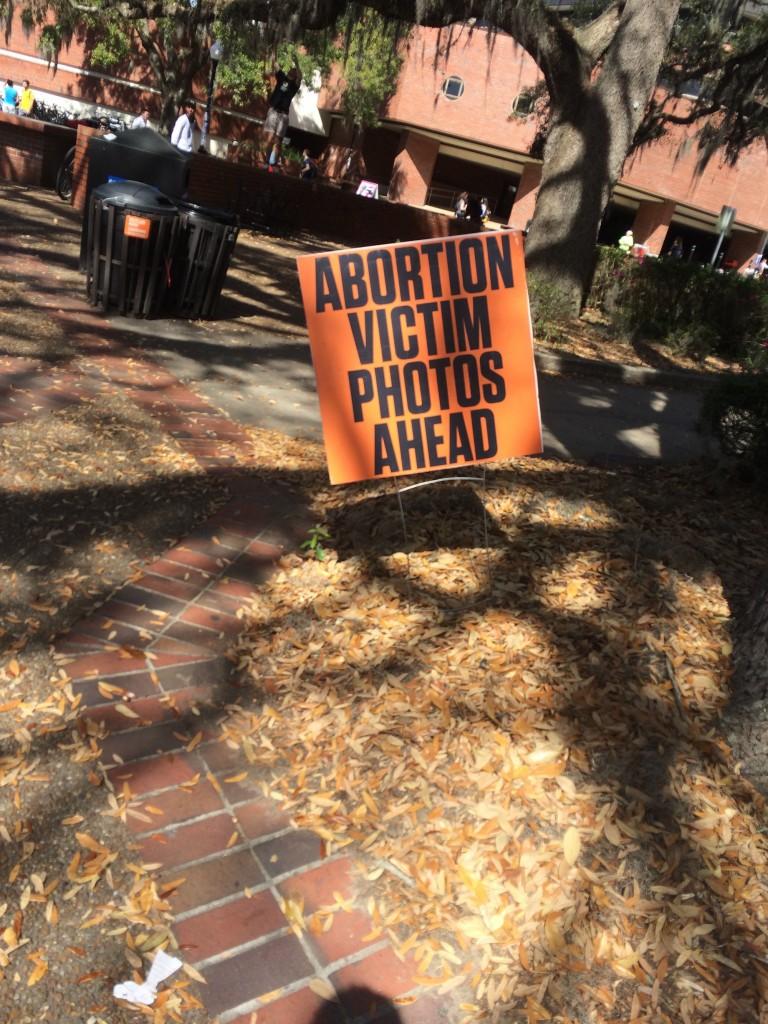 UF abortion victim photos