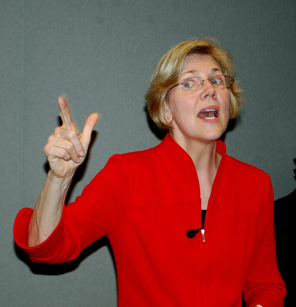 And if you want beef then bring the ruckus / Lizzy-B Warren ain't nuttin' ta fuck wit