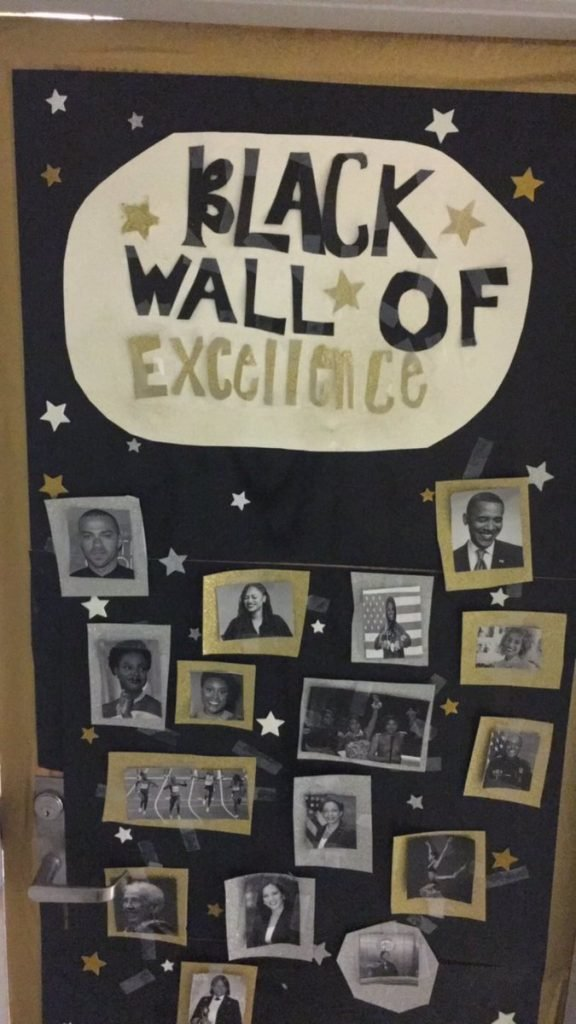 Classroom door decoration ideas for black history month