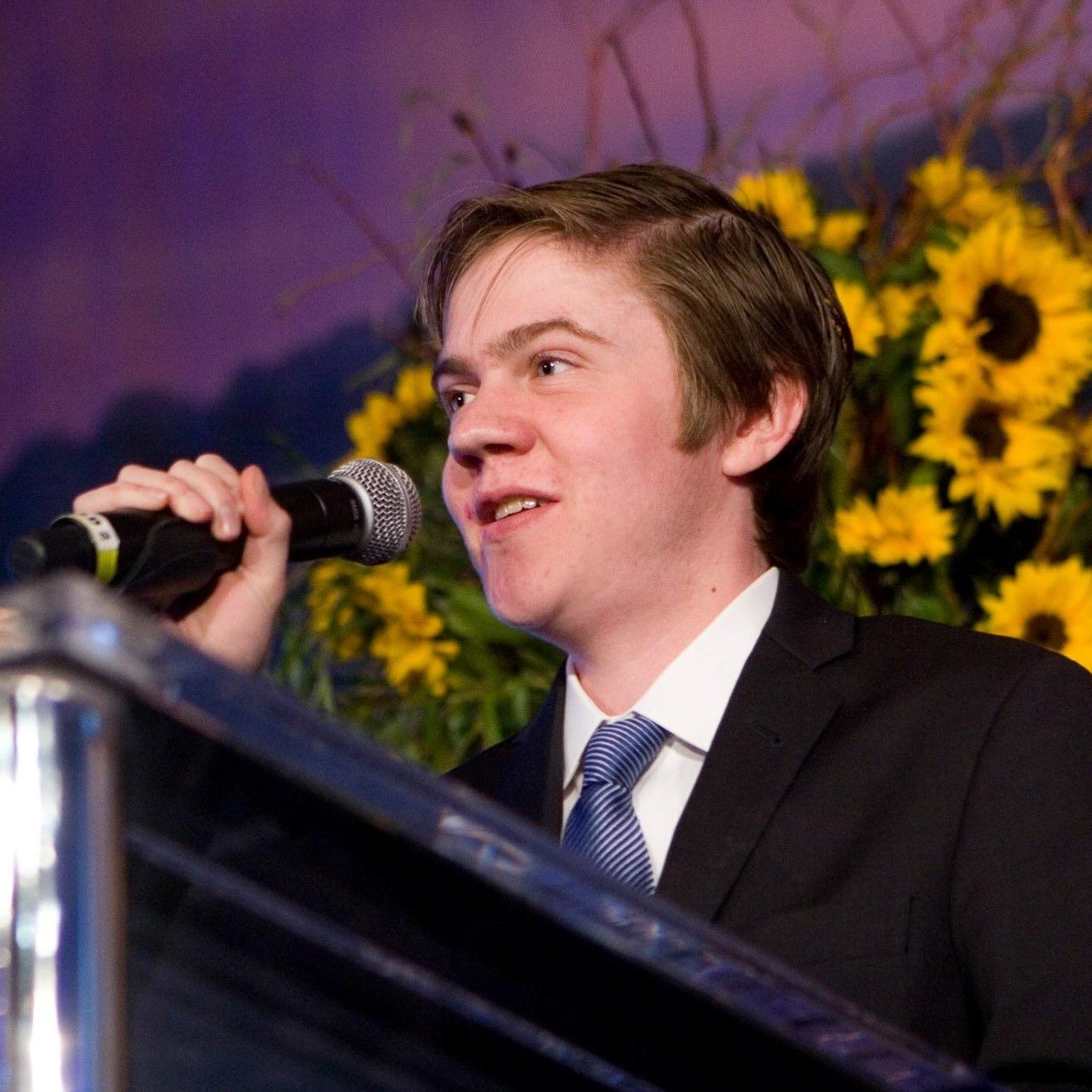 Speaking at the annual gala event for CureDuchenne