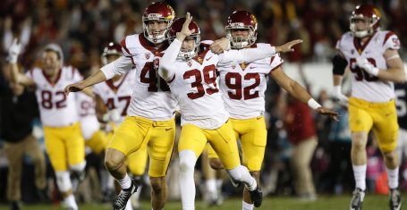 756a805c1f4 Rose Bowl-winning kicker suspended and under investigation for 'code of  conduct issue'