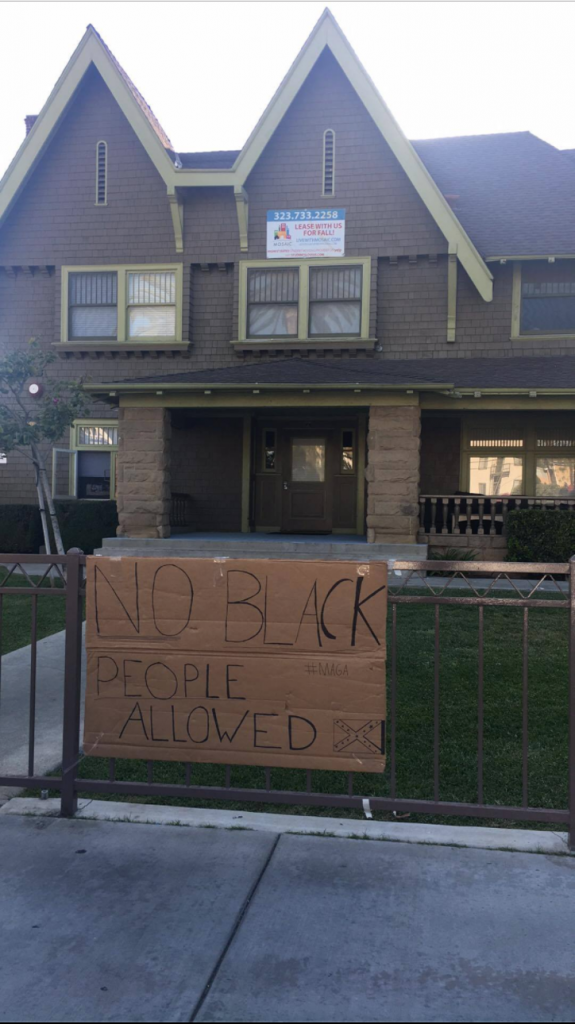 Wondrous Hate Hoax No Black People Allowed And Confederate Flag Beutiful Home Inspiration Xortanetmahrainfo