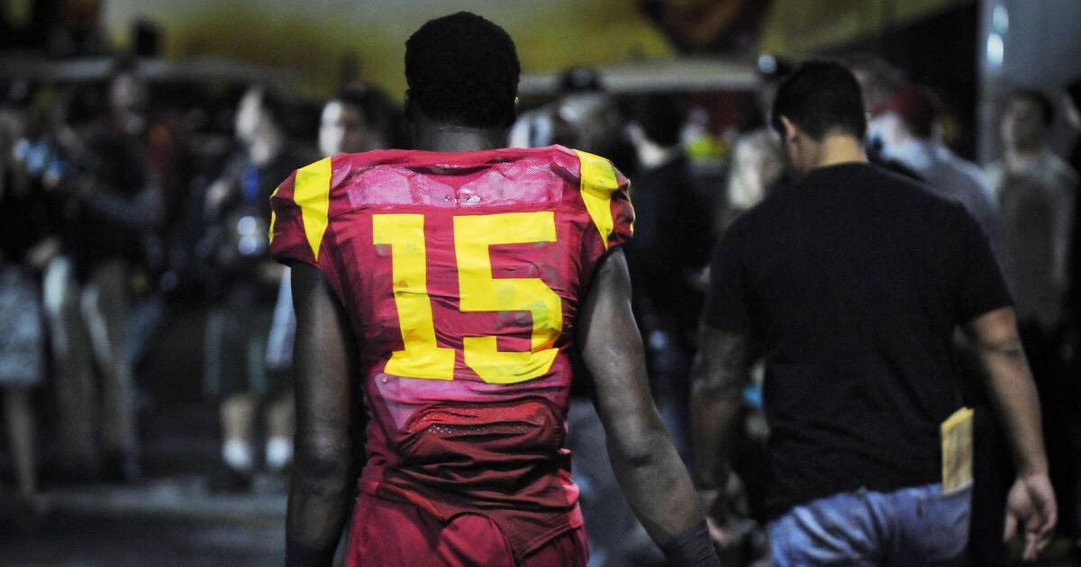 5521a7a32c1 USC football alum Nelson Agholor to play in Super Bowl LII