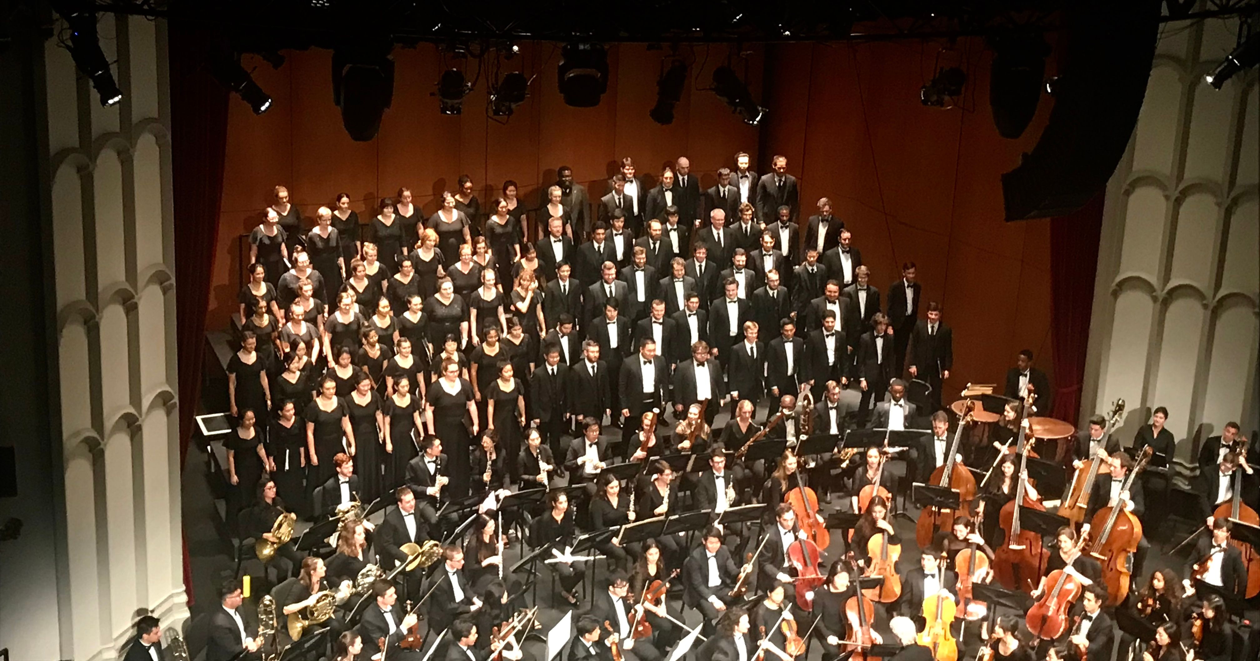 USC Thornton Symphony performs the historic and challenging