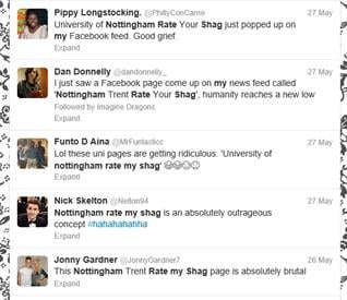 Mixed reviews from Nottingham students.