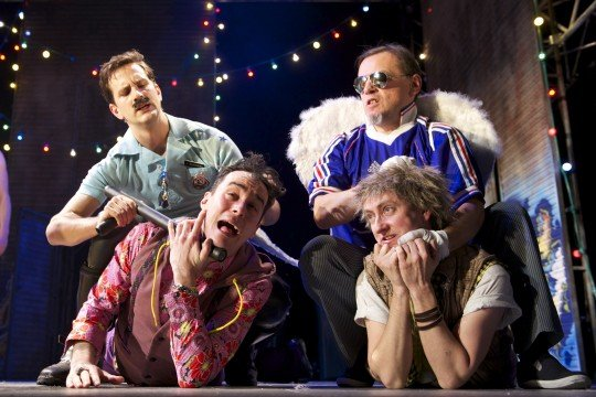 Propeller 39 s the comedy of errors at theatre royal for Farcical pantomime