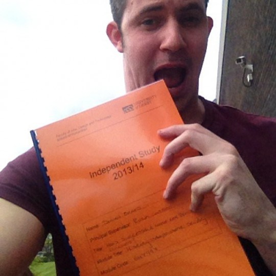 Ever had a dissertation so good you just had to eat it?