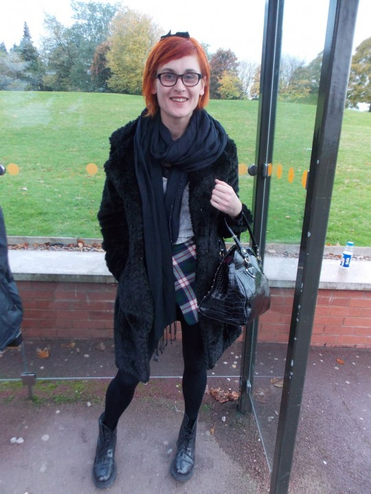 Marie, 3rd Year Social Work, Marks and Spencer Coat