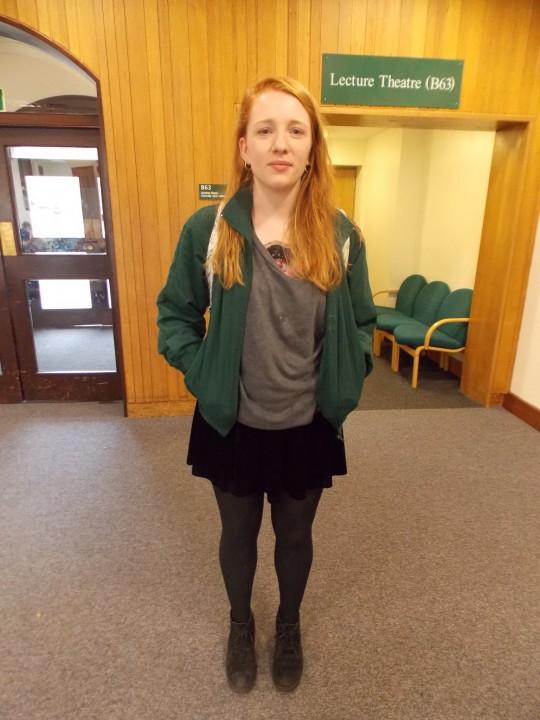 Megan, 2nd Year Law, Vintage jacket