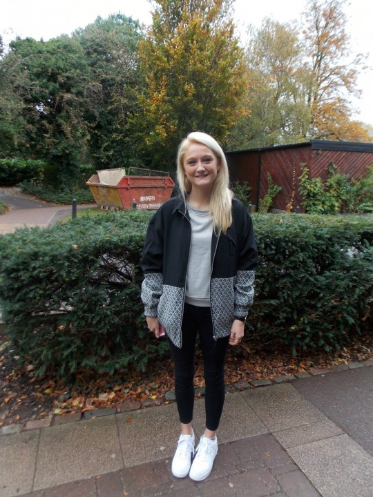 Ella, 3rd Year English, Nike from Office Trainers