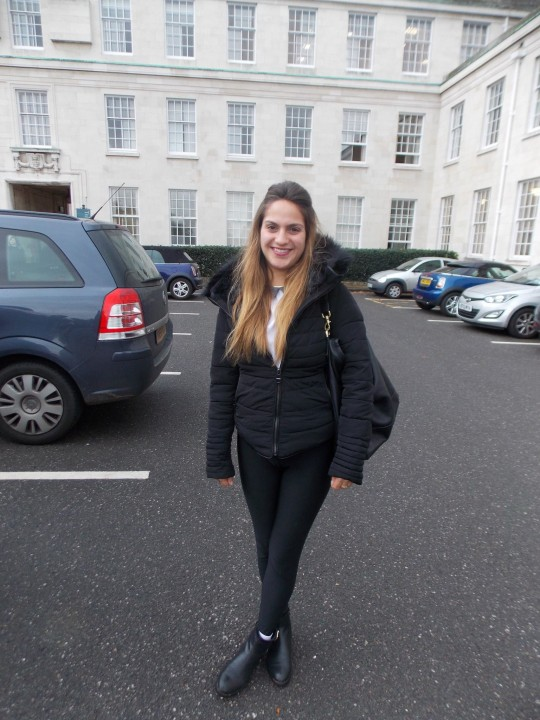 Sofia Robaroff, 1st Year Sociology, Kurt Geiger boots