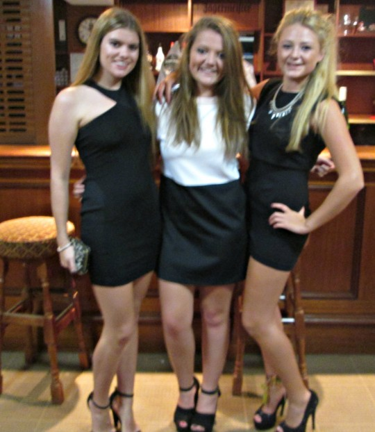 Sophie Haswell, 1st year, Philosophy, Holly Tallentire, 1st Year Psychology and Georgia Robertson, 1st Year, Philosophy