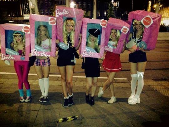 Barbie's new range.. I'll take two