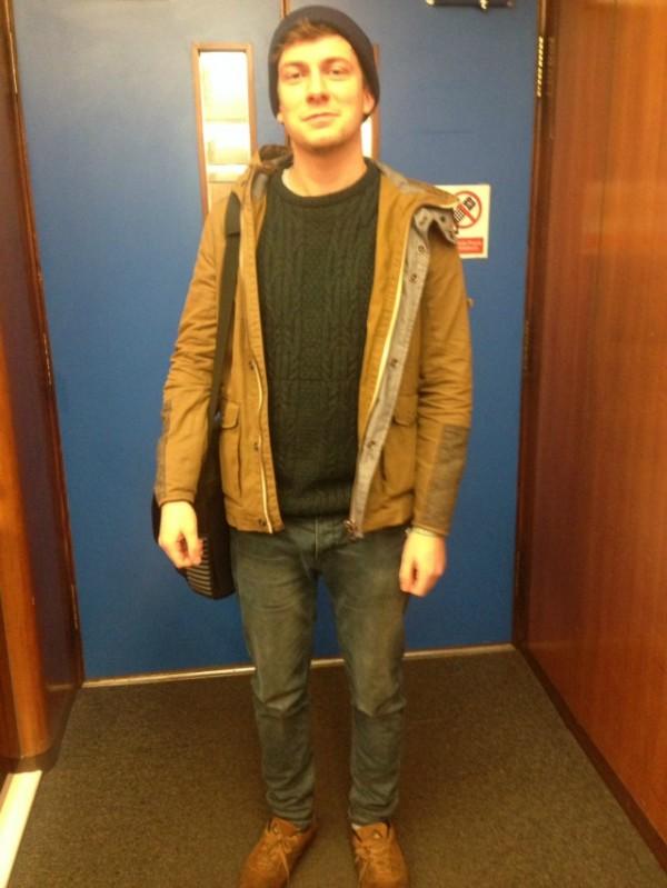 Chris Milner, English, 2nd Year
