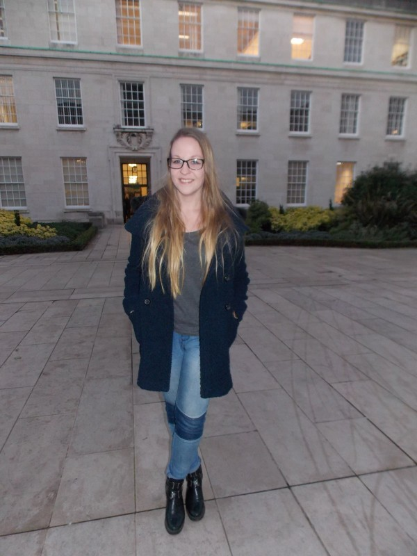 Ellie Woodcock, 1st Year English