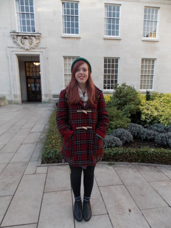 Charlotte Claire, 3rd Year English and History