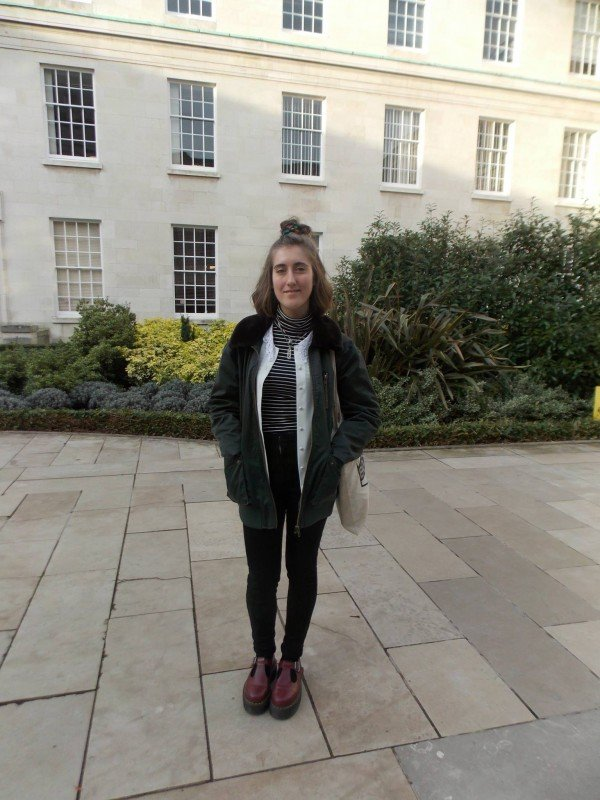 Charlotte Lacey, 1st year English and Creative Writing