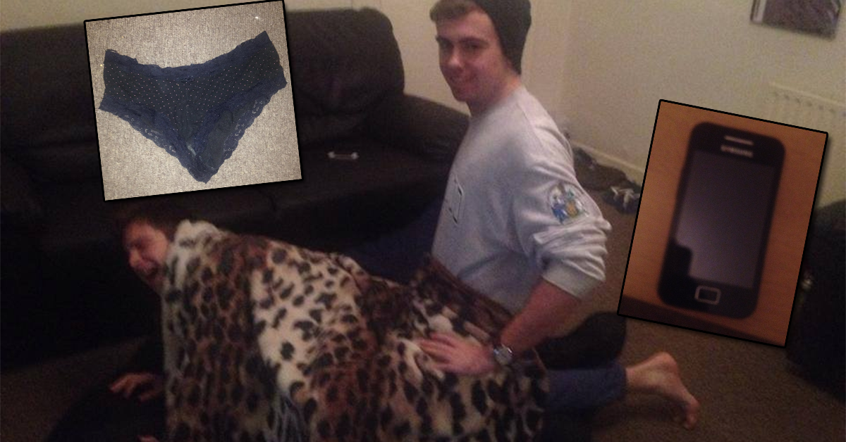 Locked out couple leave underwear in neighbours living room after ...