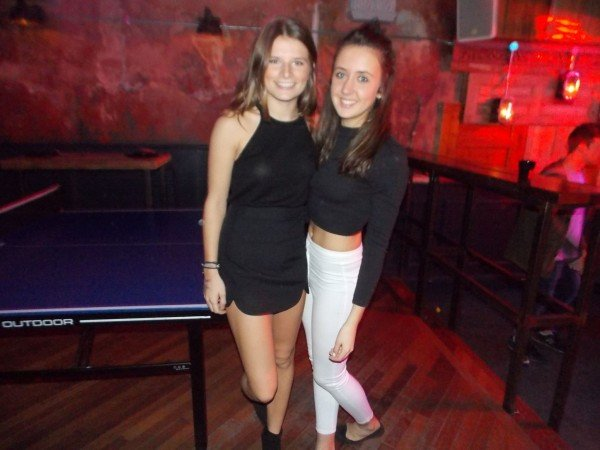 Emma Hulston, 1st year Geography, Kate Corfield, 1st year Geography