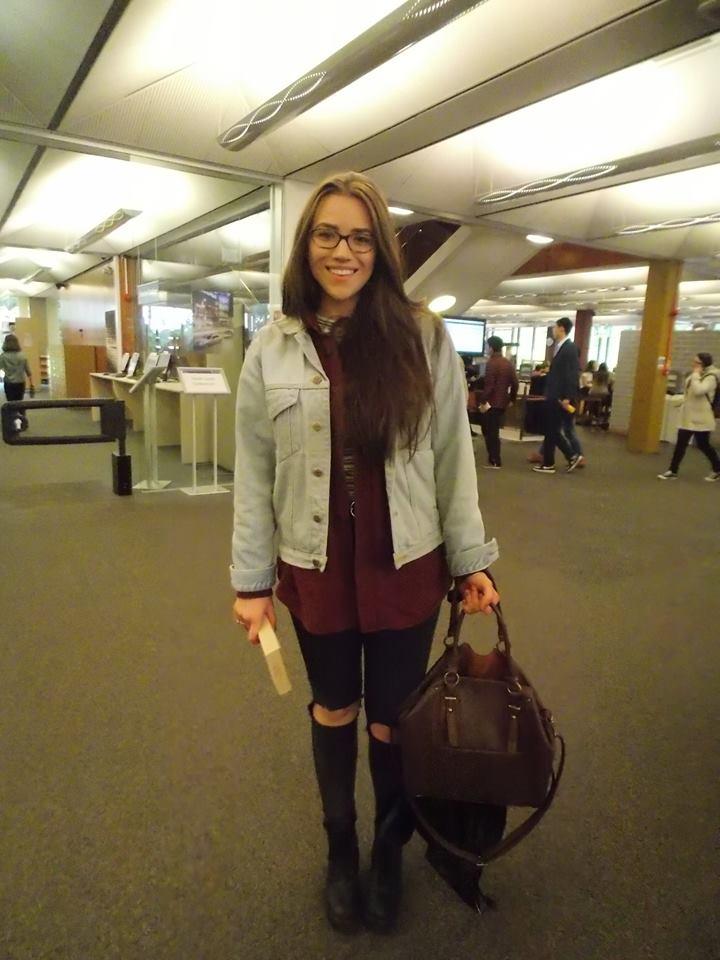 Kornelia Bala, 3rd year English student