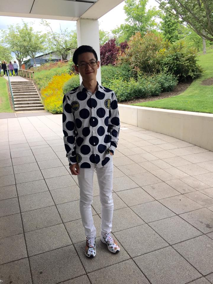 Zhong, 3rd year Architecture and Environmental Engineering student