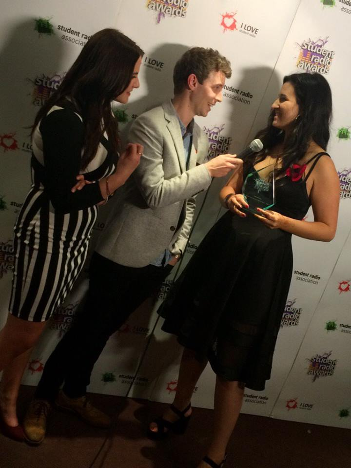 emma pearce interviewed by radio 1 matt edmondson and kat shoob