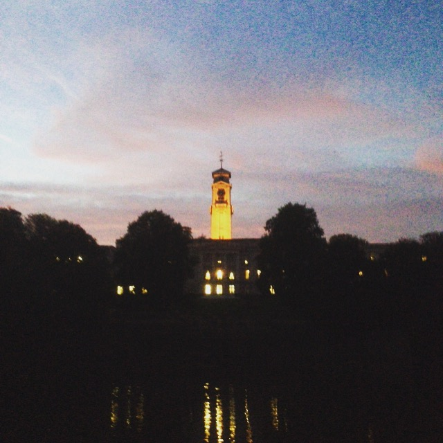 Can't deny that it's probably better looking than other uni cities as well