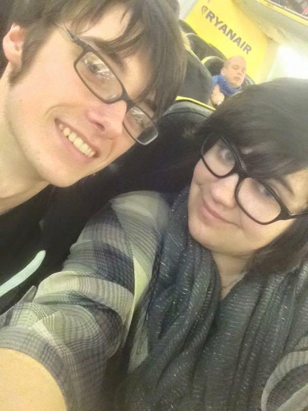 Elizabeth and her boyfriend Oliver