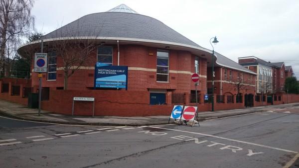 Balmoral Entrance to the school