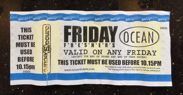 fake ocean ticket