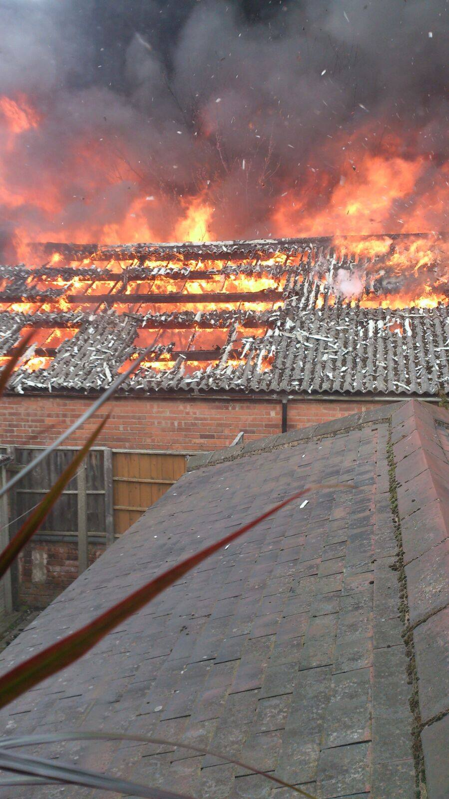There Are Asbestos Warnings After The Lenton Factory Fire
