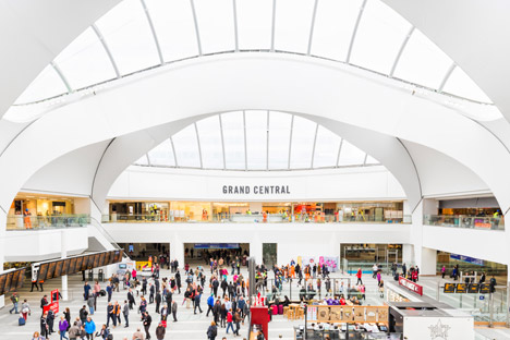 Birmingham has its own Grand Central, so you could say it's on par with NYC
