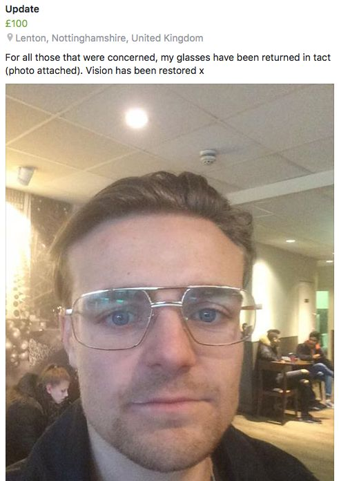 Image may contain: Glasses, Mustache, Person, People, Human