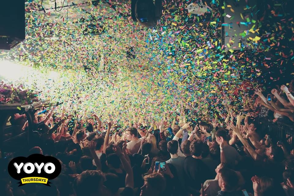 Image may contain: Music, Leisure Activities, Audience, Crowd, Person, People, Human, Paper, Confetti, Vase, Pottery, Potted Plant, Plant, Jar, Flora