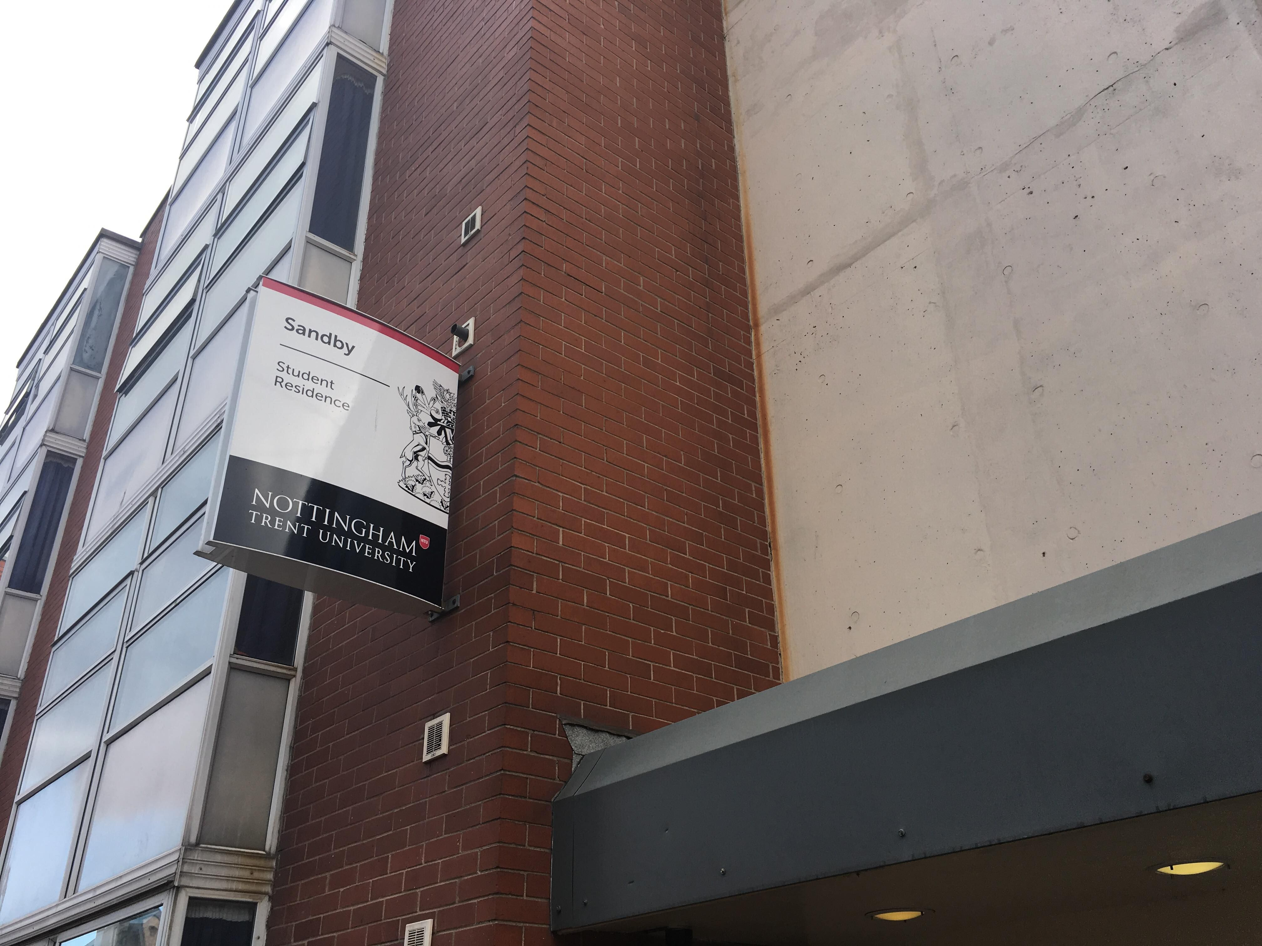 Image may contain Brick & Racist Nottingham Trent halls chants: Everything we know so far