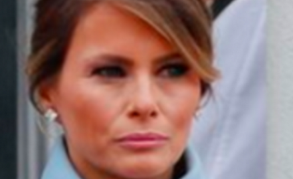 Photo of Melania Trump at the inauguration looking pissed af