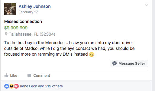 Missed connections tallahassee