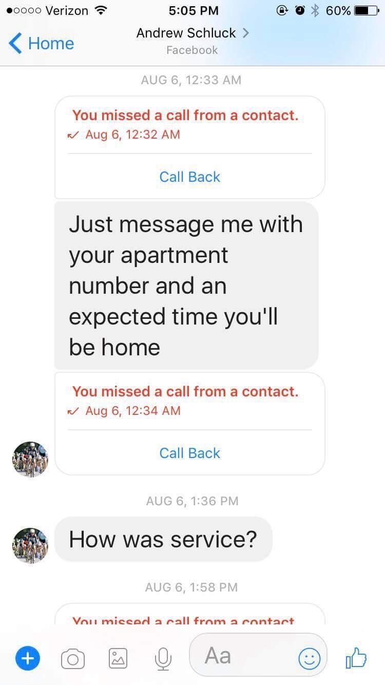 Messages Schluck sent Ackles