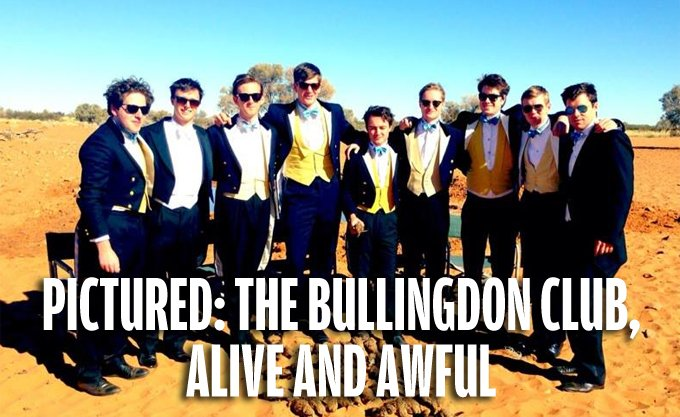 Pictured The Bullingdon Club Alive And Awful