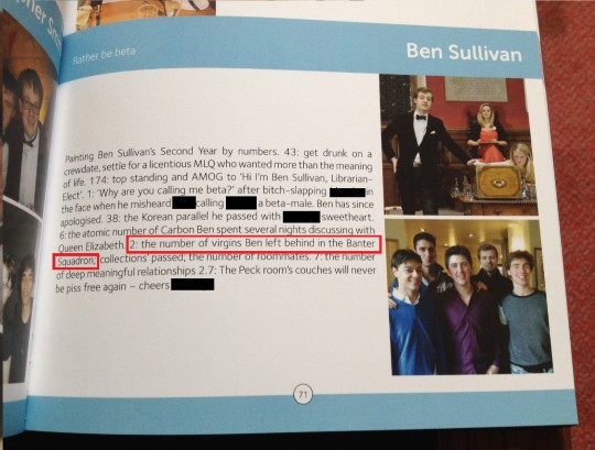 Yearbook Page 2012