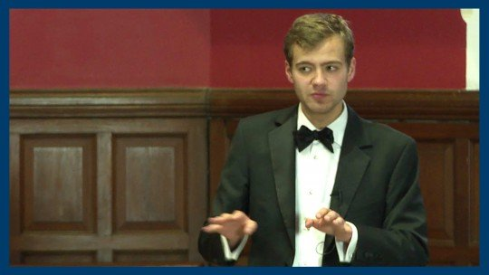 Ben Sullivan was elected President of the Oxford Union in Michaelmas 2013