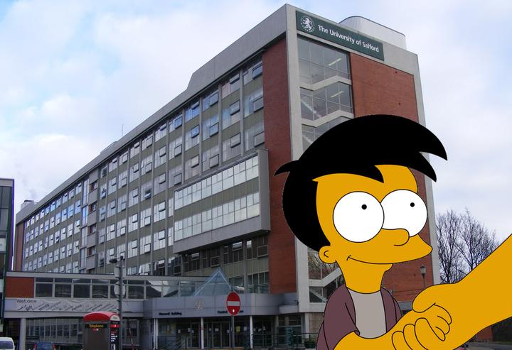 Maxwell Building, Salford University