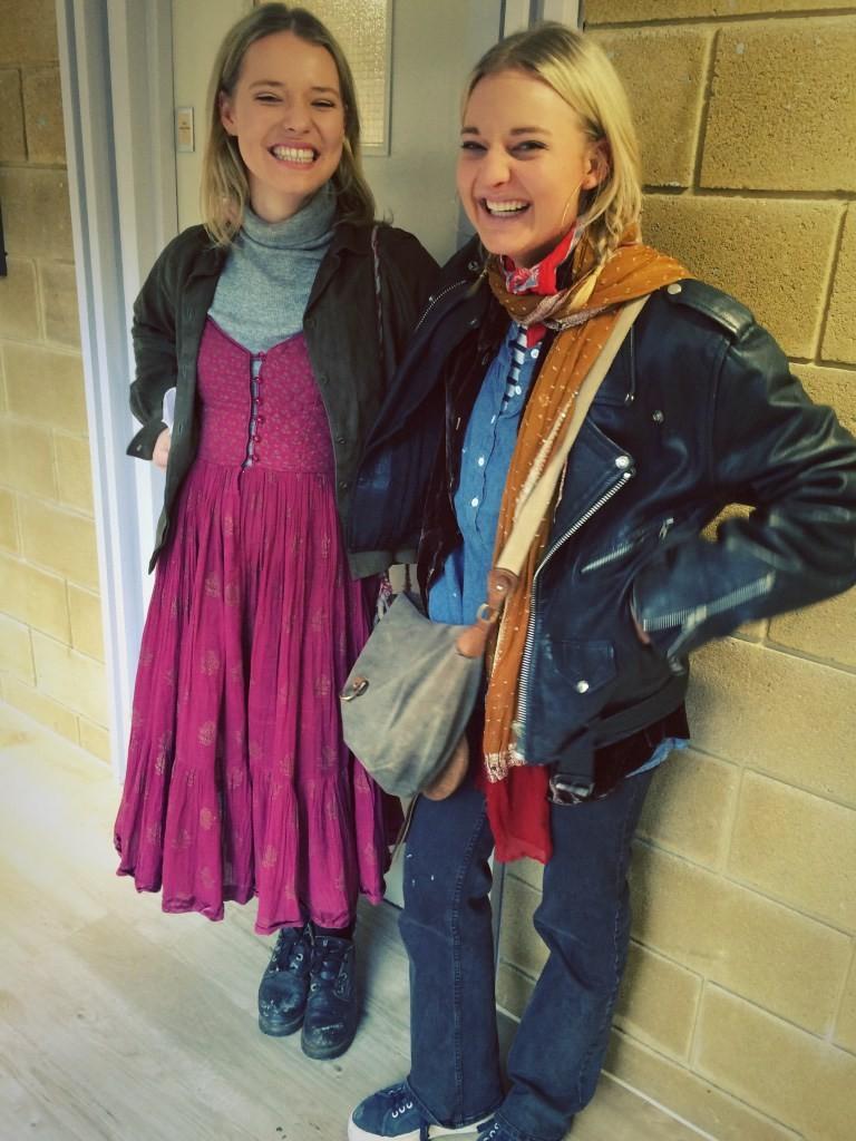 Iona and Claudia, Bristol